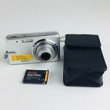 Kodak EasyShare M883 8.0MP Digital Camera - Silver With Carrying Case