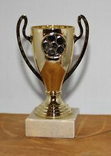 Klein Pokal in gold für Kindergeburtstag, Turnier, Sportveranstaltung, Fußball