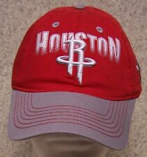 Embroidered Baseball Cap Sports NBA Houston Rockets NEW 1 size fits all Adidas