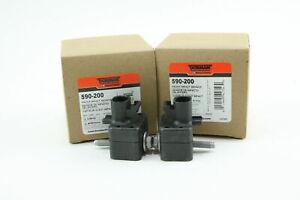 New Pair of Dorman 590-200 [2] Front Impact Sensor fits GM 10370149 15103522