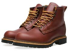 "New Red Wing Heritage 2931 Ice Cutter 6"" Leather Work Boot, Red Maple, 7.5 D US!"