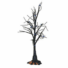 Dept 56 Halloween 2017 Black Light Bare Branch Tree #4057623 NIB FREE SHIP 48 ST
