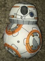 "BB-8 Disney Star Wars Beanie Plush 6"" Small Stuffed Bean Bag Toy NWT"