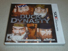 NEW SEALED NINTENDO 3DS DUCK DYNASTY SHOW GAME WILLIE UNCLE SI JASE ROBERTSONS >