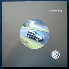 Prospekt brochure 2004 Volkswagen VW Touareg (USA)