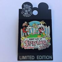 WDW - First Day of Spring 2006 Mickey & Minnie Mouse 3D Disney Pin 45805