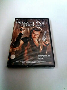"DVD ""RESIDENT EVIL ULTRATUMBA"" PRECINTADO SEALED MILLA JOVOVICH PAUL W.S. ANDERS"