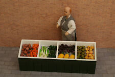 DOLLS HOUSE MINIATURE GREENGROCER'S STALL & PRODUCE  - PACK B