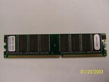 2 x PNY 512MB DDR400 200Mhz PC3200 NON-ECC RAM Memory, Bravo ADP328TM-50 Chips