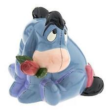 Disney Eeyore with Rose Figure Cookie Jar NIB RARE