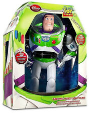 "NEW Toy Story Advance 12"" Buzz Lightyear Pop Out Wing Talking Action Figure Doll"