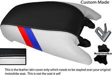 BLACK & WHITE CUSTOM M3 STRIPE FITS BMW R 850 R R 1100  95-07 REAR SEAT COVER
