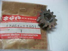 OEM Suzuki RG125 TS125 TS200 TS250 Water Pump Drive Gear PN 17451-13A01