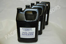 4 PACK OF 1 GALLON # PFG-200 SYNTHETIC FOOD GRADE RECIPROCATING COMPRESSOR OIL