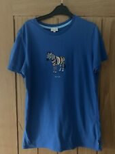 Paul Smith Blue Zebra Tshirt Age 14 Years