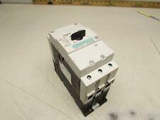 SIEMENS 3RV1042-4JB10 MANUAL MOTOR CONTROLLER 45-63FLA XLNT USED TAKEOUT M/OFFER