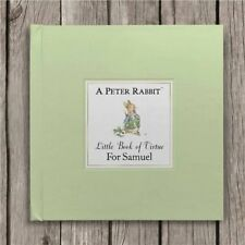 PERSONALISED Beatrix Potter Book The Peter Rabbit Little Book of Virtue - Boxed