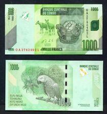 Congo Dr (Kinshasa) - 2013 1000 francs UNC banknote