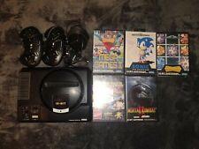 Sega Mega Drive 2 + Spiele