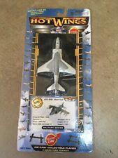 AV-8B HARRIER HOT WINGS HOTWINGS DIECAST PLANE MILITARY SERIES W RUNWAY - NEW