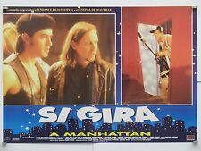 SI GIRA A MANHATTAN commedia di Tom DiCillo con Steve Buscemi fotobusta 1995