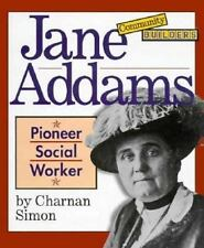 Jane Addams: Pioneer Social Worker (Community Builders)-ExLibrary