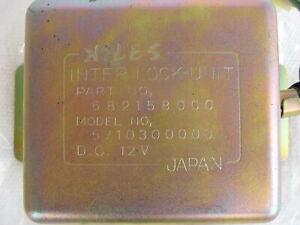 NOS Subaru Genuine Parts-NILES Inter Lock Unit-682158000-1974/75 Models-Auto/Man