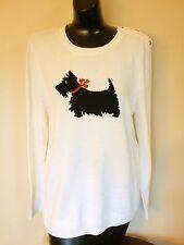 Charter Club Scottie Dog Sweater - Sz. P/XL - Petite XL