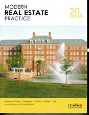 Modern Real Estate Practice 20th Edition NO WRITING