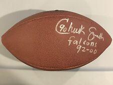 Chuck Smith Autographed Football Signed Auto Atlanta Falcons Tennessee Volunteer
