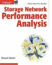 Storage Network Performance Analysis by Simitci, Huseyin