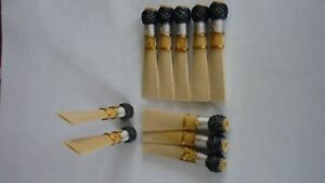 10  bassoon reed blanks open tip from Marion  cane  F2O /dukov_reeds MnF2O/