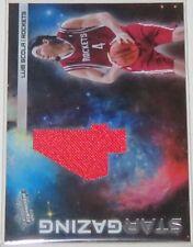 2010/11 Luis Scola Panini Absolute Star Gazing Jersey Card #16 Serial #08/25 NM