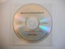 BRIAN ENO & DAVID BYRNE : LIFE IS LONG [ CD SINGLE PROMO PORT GRATUIT ]