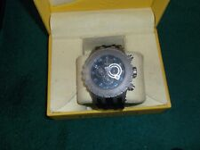 Invicta  Subaqua #0802 swiss 5050E watch black face and NEW Bk Poly band