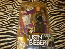 Singing Justin Bieber Figure - NEW!!!