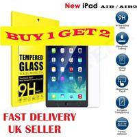 PREMIUM Tempered Glass Screen Protector For Apple iPad Air 1/5 iPad Air 2/6