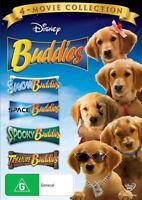 Buddies 4-Movie Collection Snow Space Spooky Treasure Buddies DVD NEW Region 4