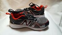 New Balance 695 Running Shoes KJ695BRY Youth Size 5.5 Silver/Black/Red