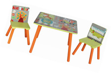 Liberty House Toys TF4808 Kid Safari Square Table and Chair Set