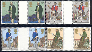 Great Britain - 1979 MNH 4 gutter pairs #871-4 Lot #0_15