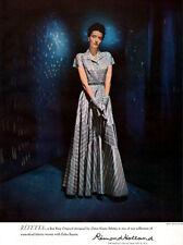 Refetta Omar Kiam Design BEN REIG ORIGINAL Remond Holland ELEGANT DRESS 1947 Ad