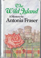 THE WILD ISLAND by Antonia Fraser HC/DJ 1979
