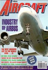 Aircraft Illustrated 1998 April B-58,Airbus,Mig21,P3 Orion,Chile,Hermes