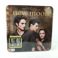 The Twilight Saga: New Moon The Movie Board Game Metal Cullen Crest Edition