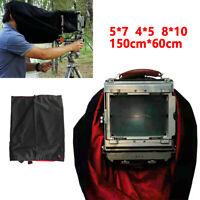 Waterproof Dark Cloth Focus Hood For 4X5 5x7 8x10 Large Format Camera 150x60cm