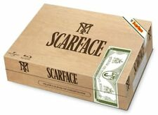 COFFRET BLU RAY STEELBOOK SCARFACE LIMITED CIGAR BOX EDITION BELGE NEUF