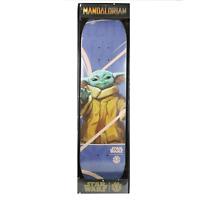 "Star Wars Mandalorian Child Skateboard Deck Baby Yoda 8.2"" Element Skateboards"