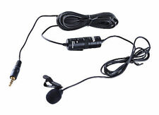 BOYA BY-M1 6m 3.5mm Plug Lavalier Condenser Clip-On Microphone - Black