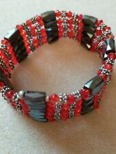 Red And Black Magnetic Beads Wrap